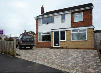 Thumbnail 4 bed detached house for sale in Bankfield Avenue, Crewe