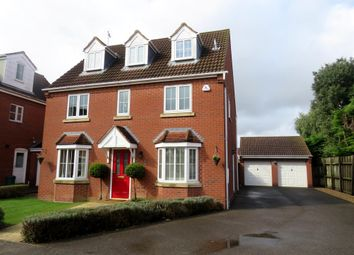 Thumbnail 5 bed detached house for sale in Juniper Crescent, Spalding