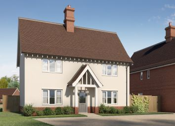 Thumbnail 4 bedroom detached house for sale in Newton, Sudbury, Suffolk