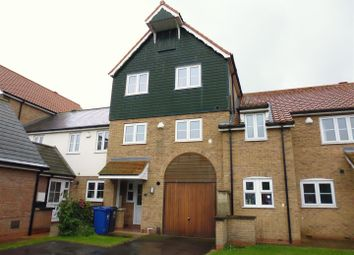 Thumbnail 4 bed terraced house for sale in Park Lane, Burton Waters, Lincoln