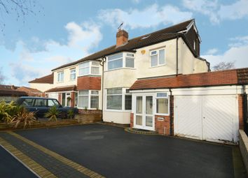 Thumbnail 4 bed semi-detached house for sale in Welford Road, Shirley, Solihull