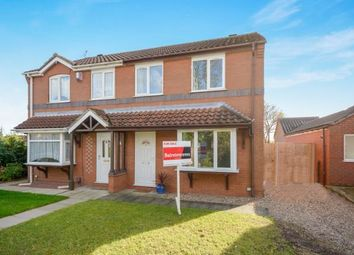 Thumbnail 3 bed semi-detached house for sale in Ridgewell Close, Lincoln, Lincolnshire
