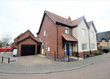 Thumbnail 3 bed semi-detached house for sale in Wheeler Crescent, Easton, Norwich