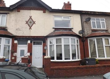 Thumbnail 3 bed terraced house to rent in Manchester Road, Blackpool