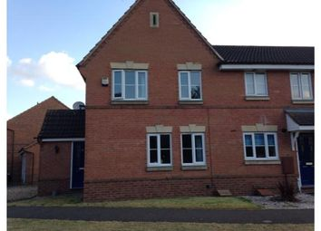 Thumbnail 3 bed semi-detached house to rent in Keepers Way, Sleaford