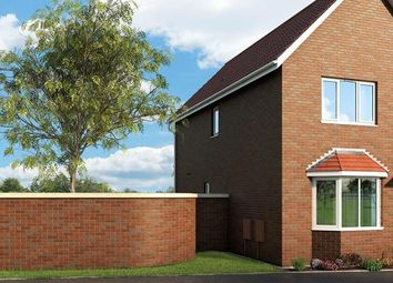 "Thumbnail 3 bed property for sale in ""The Violet At Meadow View, Shirebrook"" at Brook Park East Road, Shirebrook, Mansfield"