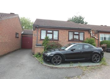 Thumbnail 2 bed detached bungalow for sale in Willowdene Way, Barwell, Leicester