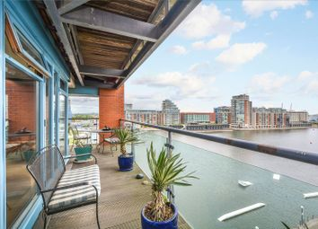 Thumbnail 2 bed flat to rent in Western Beach Apartments, 36 Hanover Avenue, London