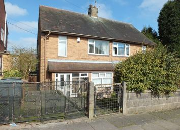 Thumbnail 3 bedroom semi-detached house for sale in Cowlishaw Road, Chell Heath, Stoke-On-Trent