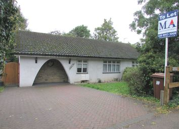 Thumbnail 2 bed bungalow to rent in Hartspring Lane, Watford
