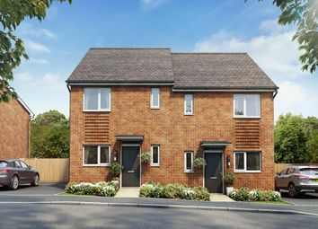 Thumbnail 3 bedroom semi-detached house for sale in St Modwen Homes Off Derby Road, Clay Cross, Chesterfield