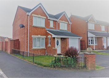 Thumbnail 4 bed detached house for sale in Foxglove Close, Blyth