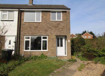 Thumbnail 3 bed end terrace house to rent in Burrwood Gardens, Aldershot