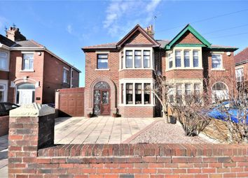 Thumbnail 3 bed semi-detached house for sale in St Lukes Road, South Shore, Blackpool, Lancashire