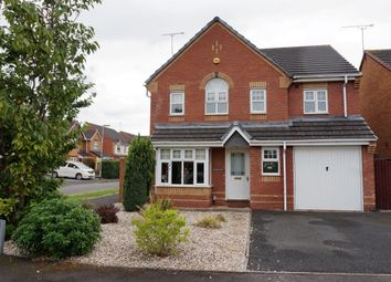 Thumbnail 4 bed detached house for sale in Jupiter Way, Stafford