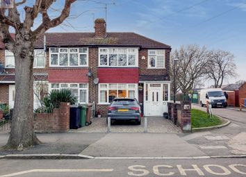 Thumbnail 2 bed end terrace house for sale in York Road, London