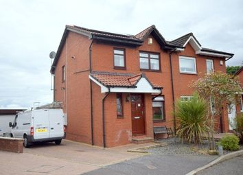 Thumbnail 3 bed semi-detached house for sale in Glenbuck Avenue, Robroyston, Glasgow