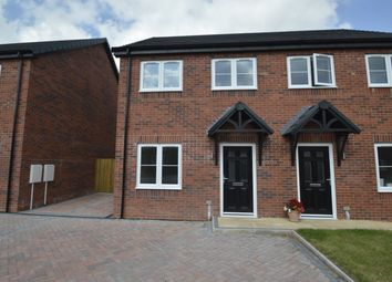 Thumbnail 2 bed semi-detached house to rent in Orchid Meadow, Minsterley, Shrewsbury
