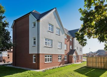 Thumbnail 1 bed flat for sale in Lancaster Crescent, Hartford, Northwich