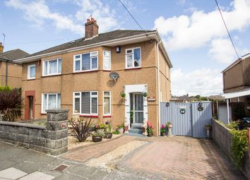 Thumbnail 3 bed semi-detached house for sale in Princess Avenue, West Park, Plymouth