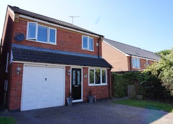 Thumbnail 4 bedroom detached house for sale in Horton Court, Leicester