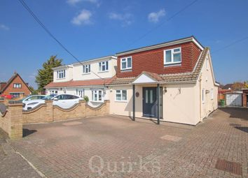 Thumbnail 3 bed semi-detached house for sale in High View Rise, Crays Hill, Billericay