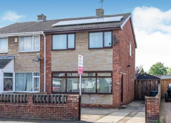 Thumbnail 3 bedroom semi-detached house for sale in Abbey Road, Dunscroft, Doncaster