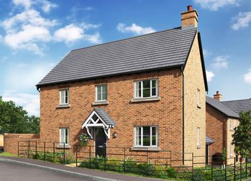 Thumbnail 4 bed detached house for sale in St Georges Fields, Wootton Fields, Northampton