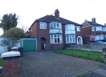 Thumbnail 3 bed semi-detached house for sale in Yateley Avenue, Great Barr, Birmingham