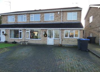 Thumbnail 5 bedroom semi-detached house for sale in Warwick Road, Broughton Astley, Leicester, Leicestershire