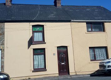 Thumbnail 3 bed terraced house for sale in Victoria Buildings, Coytrahen, Bridgend.