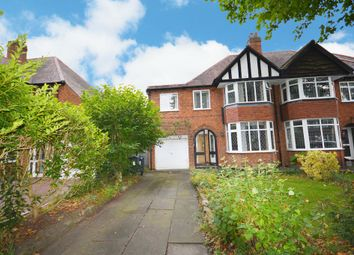 Thumbnail 4 bed semi-detached house for sale in Ferndale Road, Hall Green, Birmingham