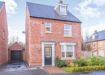 Thumbnail 4 bed detached house for sale in Crowson Drive, Quorn, Loughborough