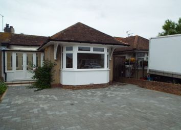 Thumbnail 2 bed bungalow to rent in George V Avenue, Lancing