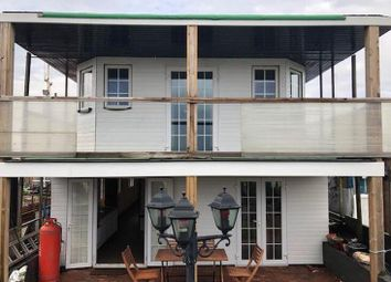 Thumbnail 4 bed houseboat for sale in Vicarage Lane, Port Werburgh, Hoo, Rochester