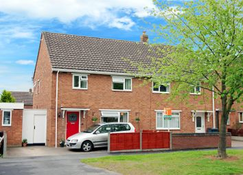 Thumbnail 3 bed semi-detached house for sale in Claverley Crescent, Shrewsbury