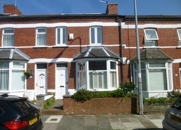 Thumbnail 2 bed terraced house to rent in Salisbury Road, Barry