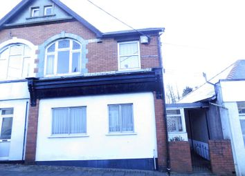 Thumbnail 4 bed end terrace house for sale in Newport Road, Bedwas, Caerphilly