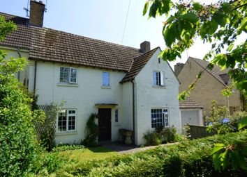 Thumbnail 3 bed semi-detached house for sale in School Lane, Ampney Crucis, Gloucestershire