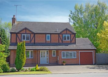 Thumbnail 4 bed detached house for sale in Hollybush Road, Newborough