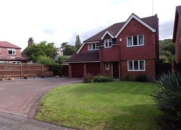Thumbnail 4 bed detached house for sale in The Meadows, Woodley, Stockport, Cheshire