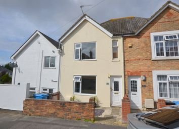 Thumbnail 3 bedroom terraced house for sale in Victoria Crescent, Parkstone, Poole
