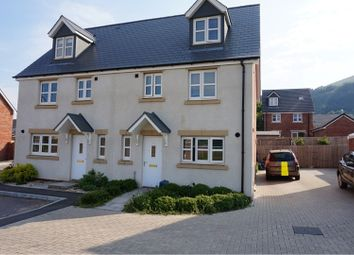 Thumbnail 4 bed semi-detached house for sale in Ffordd Sain Ffwyst, Abergavenny