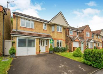 Thumbnail 4 bedroom detached house for sale in Gelli'r Felin, Caerphilly