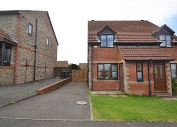 Thumbnail 2 bed semi-detached house to rent in Romany Drive, Consett, Co Durham