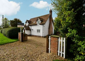 Thumbnail 3 bed detached house for sale in Langley Upper Green, Saffron Walden