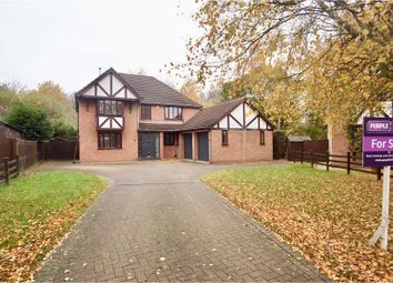 Thumbnail 4 bed detached house for sale in Farrington Close, Lincoln
