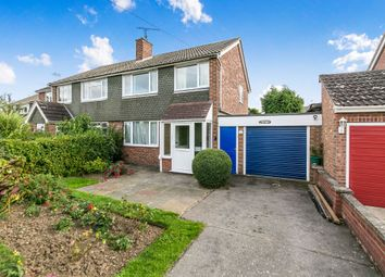 Thumbnail 3 bed semi-detached house for sale in Lucas Avenue, Fordham, Colchester