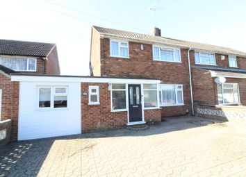 Thumbnail 3 bedroom semi-detached house for sale in Pinewood Close, Luton
