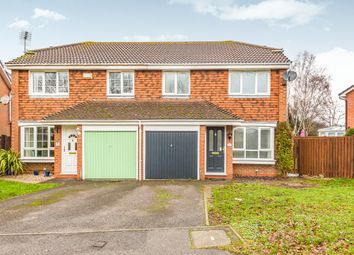 Thumbnail 3 bed semi-detached house to rent in Scott Close, Woodley, Reading